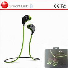 Mini and lightweight sport bluetooth headset V8 good Christmas gift for children