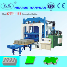 Hot sales QT4-15 Hydraulic Pressure Method and Yes Automatic machine for manufacturing ecological bricks