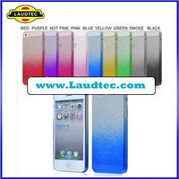 Clear Crystal Hard Case Back Cover for iPhone 5,For iPhone 5 Hard case Plastic Raindrop Cover,Laudtec