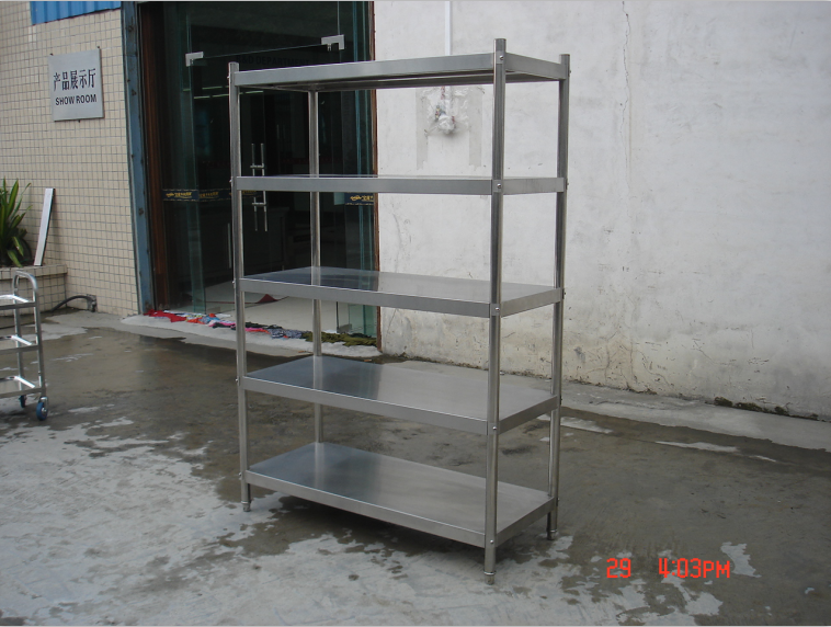 Top product stainless steel plate rack, steel plate storage rack