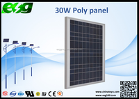 Photovoltaic system 30w emergency led lighting solar panel