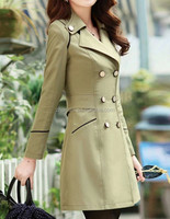 Korean Style Latest Slim Fit Women's Trench Coat