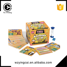 Funny design custom game against best selling trading printingcard game
