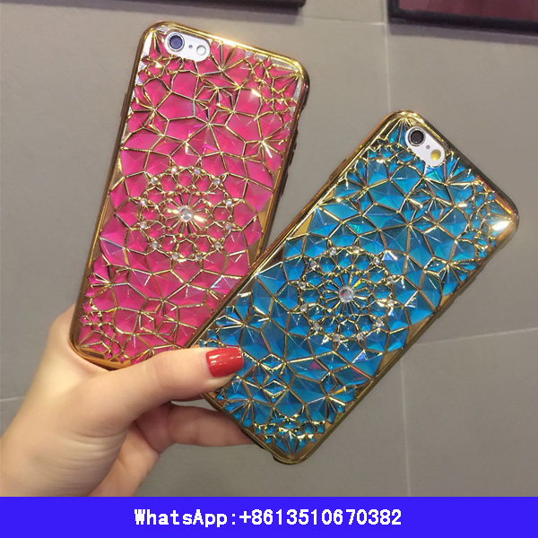 Slim Lightweight Bling TPU Case Cover Bumper For Iphone5 5s 6 6s 6 plus