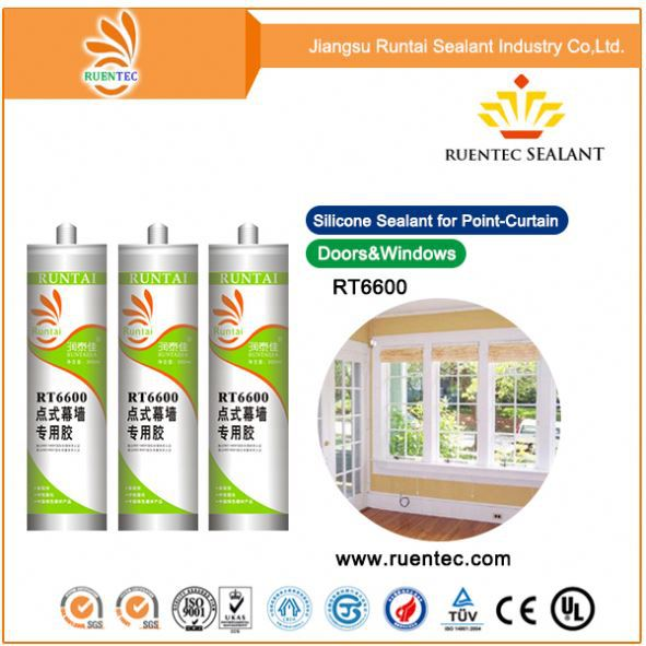 strong bonding, fast cure structural marble/stone/ceramic tiles silicone sealant