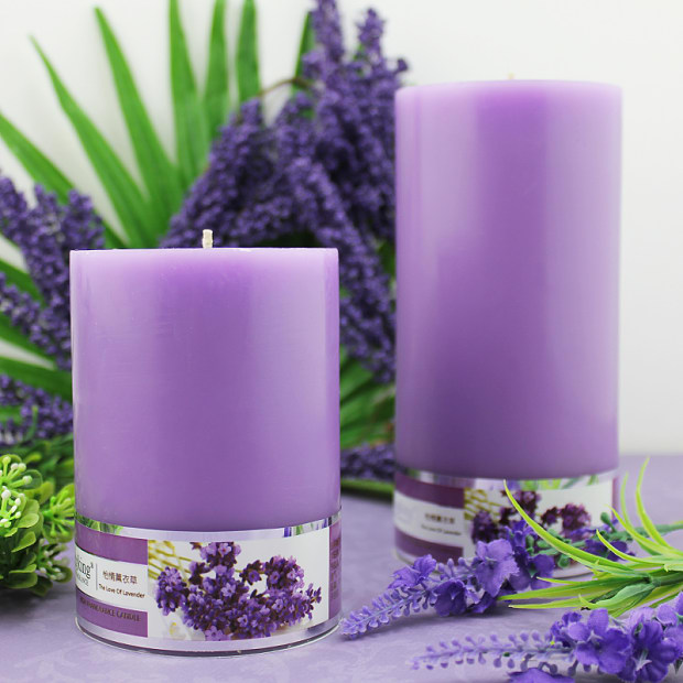 the most popular soy wax 10 inch pillar scented candle