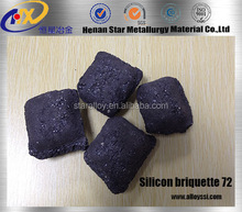 ferro silicon 75/fesi 75%/ fesi 75# briquette/ball manufacturing supplier