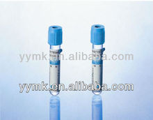 Glass/PET Vacuum Blood Collecton Tube --No Addictive Blood Collection Tube