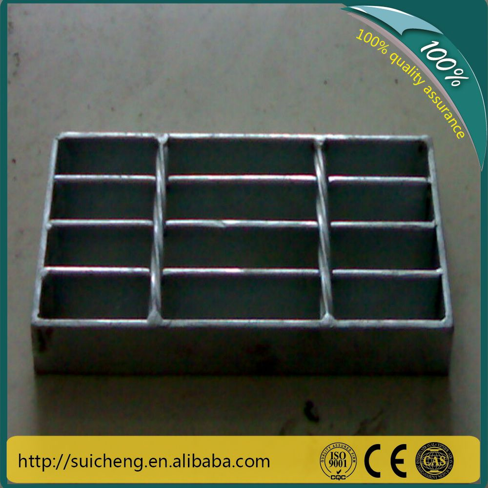 Guangzhou stainless steel grating price/galvanized steel grating weight/steel grating catwalk platform