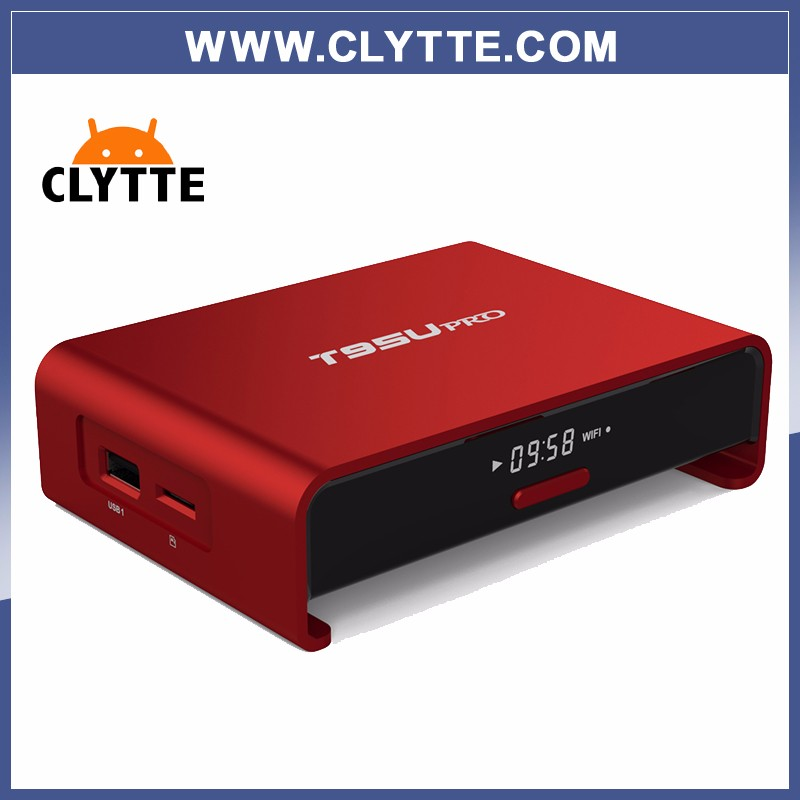 Octa Core Android CLYTTE PTV BOX T95Upro Free 1700 Europe Arabic IPTV Channels S912 2GB/16GB TV Box WIFI H265 Media Player