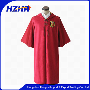 Cosplay Costume Harry Potter Gryffondor robe cape taille Quidditch costume