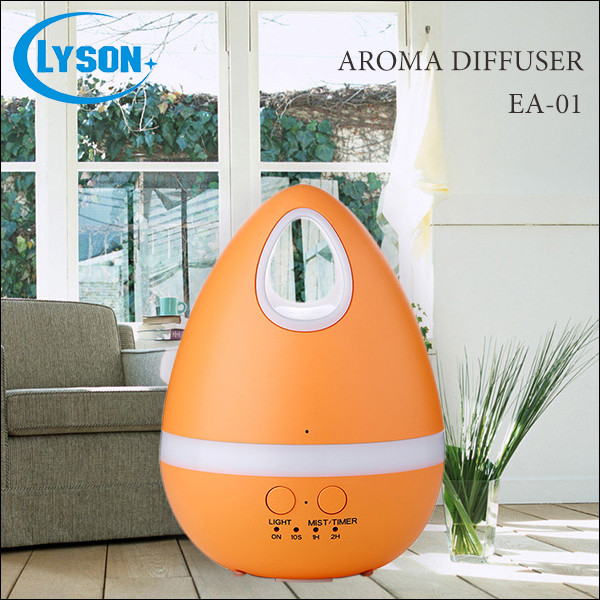 Lovely colorful egg for gift small size home oil diffuser with LEDs
