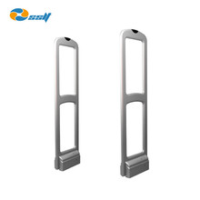 Retail security AM 58KHz Acrylic EAS antishoplifting gate/ clothing store eas tagging system