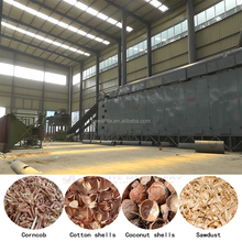 Industrial continuous multi mesh belt dryer for Wood Chip Shaving Sawdust