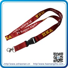 new products on market create your own brand lanyard printing machine with safety buckle