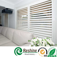 Water-proof Louver Interior/Exterior Tilt Bar Shutter
