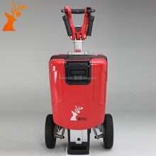 China manufacturer Smart fashion Red folding three wheel electric scooter