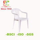Since 1958! Nestable plastic chair for outdoor garden!