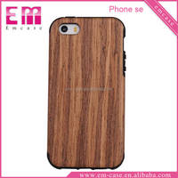 Ultra Thin Case For iPhone 5se/Wood Stylish TPU Cell Phone Case For iPhone 5se