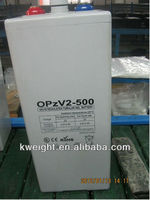 OPzV 2v500ah tubular plate battery