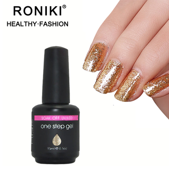 RONIKI  Most Popular Private Label Cosmetics Professional 1 Step Gel Nail Polish
