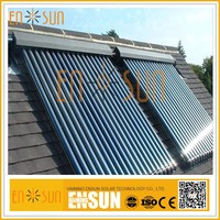 ENSUN Professional Factory Made Most Popular Water Heat Pipe Solar Collector