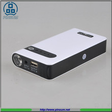 Multi function power bank car jump start 12000mah OEM Auto mini jump starter wholesale