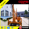 CE Certificate 360 Rotate Good Working Telescopic Boom Hydraulic Lift Table