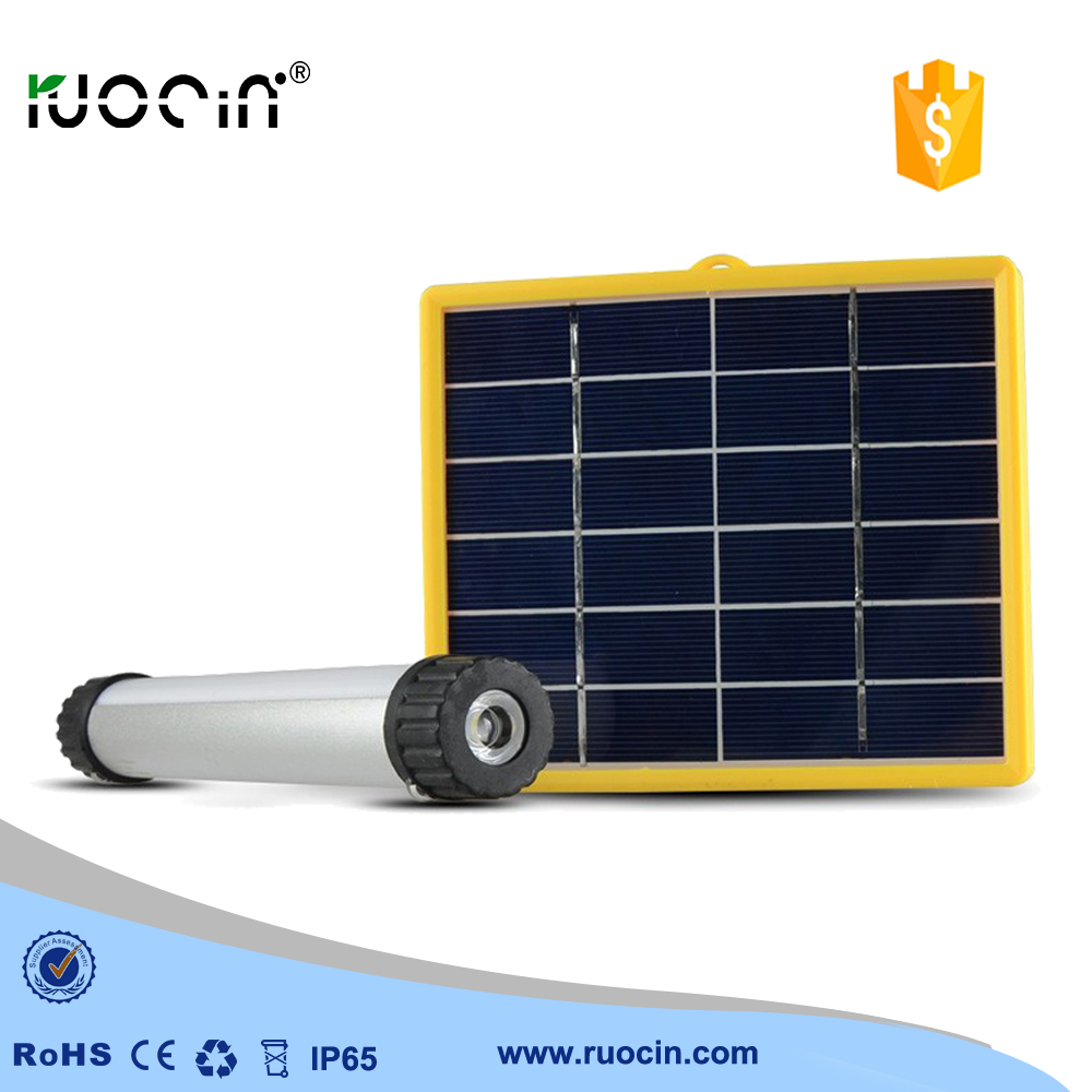 cheapest solar outdoor rechargeable LED flashlight with 4000mah 3.7v 18650 battery