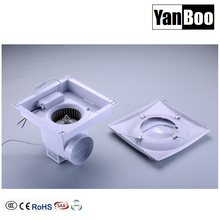 10 Inch Ceiling Mounted ventilation exhaust fan with LED Light