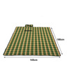 Custom Made Checkered Design Waterproof Bottom Picnic Mat picnic blanket large waterproof Mat