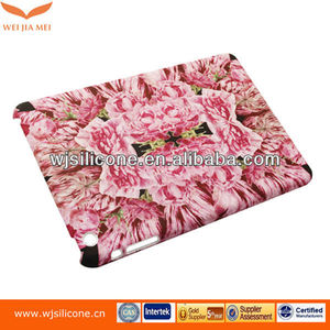 Hard Plastic Water Transfer Printing Cover OEM Flower Graphic For Ipad Mini 2
