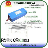 Pakc Rechargeable Deep Cycle 60ah 12v Lithium ion Battery