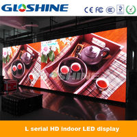 Gloshine newest P4.81 HD video xxx sex china led screen