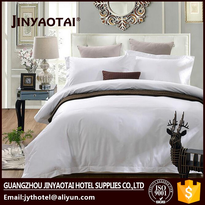 bed sheet/hotel bed sheet 3d linen in Guangzhou
