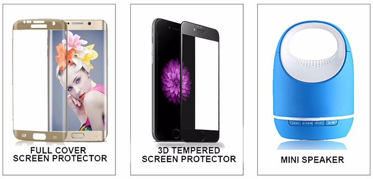 Wholesale Screen Protector Film For Iphone 7 9H Hardness 3D Tempered Glass For Iphone 7 Screen Protector