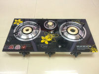 JK-705 Glass top Indian gas stove