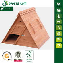 Indoor Small Wooden Pet Cock Cage
