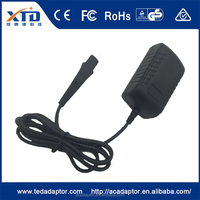 12v 400ma power adapter for Braun 5210 hair clipper BL-3 wire