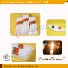 high quality white household candle manufacturer in hebei
