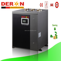 Deron ground source/water to water heat pump, geothermal heat pump 12.5kw(CE, for heating and cooling)