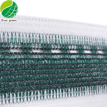 Dark Green And White UV And Water Resistant Balcony Protection Fence Netting