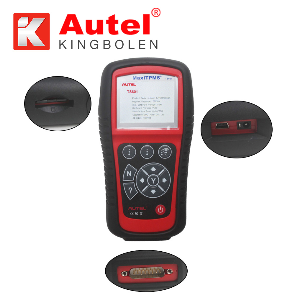Autel MaxiTPMS TS601 TPMS System Relearn Programming and Coding Diagnostic Service Tool