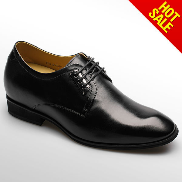 Men dress leather pointed shoes/shiny party shoes