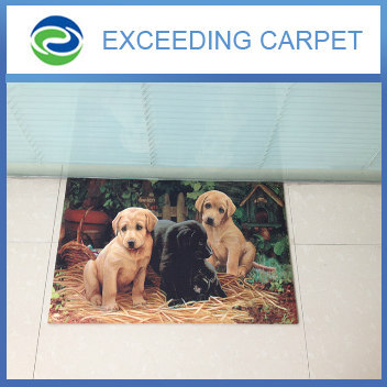 Dogs ptoto Print Mat