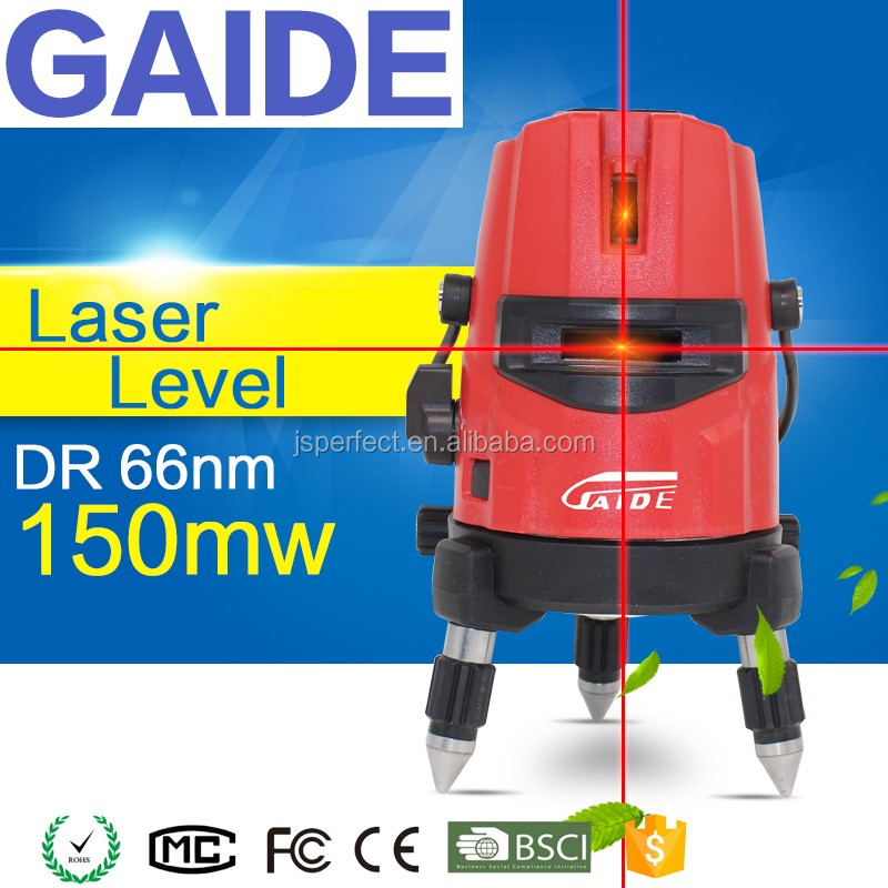 Portable Mini Red 5 Line High Powe Laser Level For Construction Mini Type
