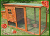Chicken Application and Eco-Friendly Feature chicken coop with large run