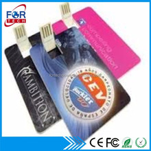 OEM customized slip plastic 8GB usb flash drive usb pen drives advertising gifts for sales