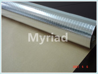 Single Side Foil-Scrim-Kraft Facing,aluminum thermal reflective foil insulation,Pure Aluminium Foil Insulation Material
