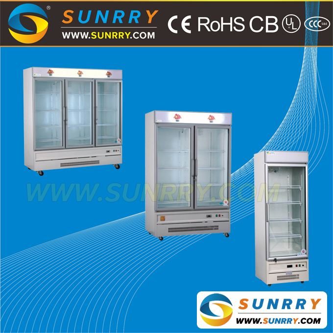 Small mini refrigerator price for supermarket used fridge stand